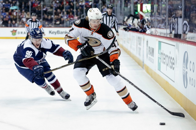 Hampus Lindholm returns from injury. Mikko Rantanen could return to the ice next week.