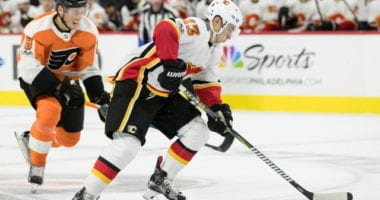Johnny Gaudreau, Taylor Hall, Chris Kreider, and Jean-Gabriel Pageau NHL trade rumors surfaced last month involving Western Conference teams.