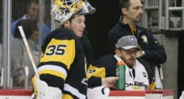 Is there a goaltending controversy brewing with the Pittsburgh Penguins?