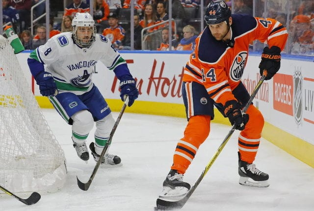 Teams could be interested in Chris Tanev. Micheal Ferland's deal could be a benchmark for Zack Kassian.