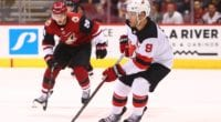 The Arizona Coyotes appear to be the frontrunners for New Jersey Devils forward Taylor Hall.
