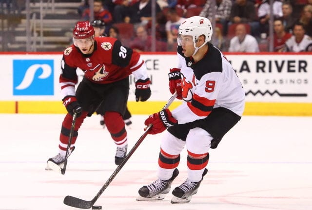 NHL rumors: Two teams that could be interested in Taylor Hall - the Arizona Coyotes and Colorado Avalanche. The Devils haven't set an asking price yet.