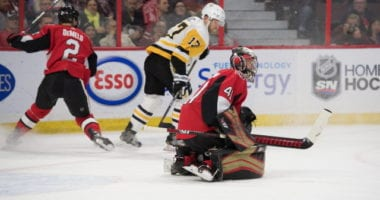 The Penguins lose another in Bryan Rust. Craig Anderson on the IR.