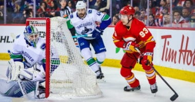 The Flames were getting low ball offers for Sam Bennett. The Canucks and Jacob Markstrom expected to have contract talks soon.