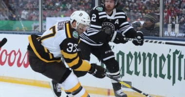 Duncan Keith to the IR. Patrice Bergeron not ready to return just yet.
