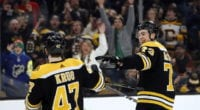 Bruins Torey Krug and Blue Jackets' Josh Anderson are two significant trade commodities.