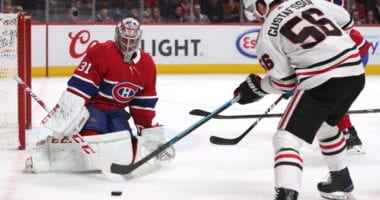 The Montreal Canadiens are looking for some blue line help. Are they looking at Chicago Blackhawks Erik Gustafsson?