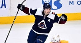 Colorado Avalanche forward Nathan MacKinnon said he would take less on his next contract.