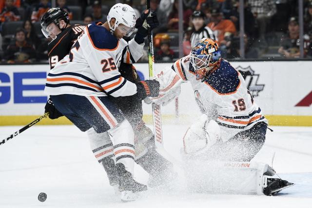 Edmonton Oilers pending restricted free agent defenseman Durnell Nurse.