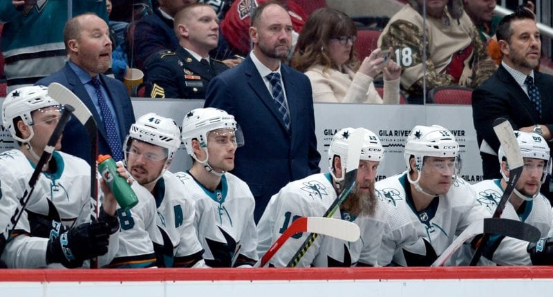 The San Jose Sharks fired head coach Pete DeBoer
