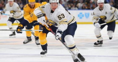 Sabres forward Jeff Skinner out three to four weeks