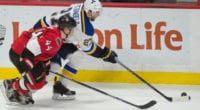 Jean-Gabriel Pageau could be a rental option for the St. Louis Blues. The Blues may not want to go higher than $9.25 million for Alex Pietrangelo