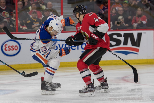 The Edmonton Oilers are interested in Jean-Gabriel Pageau as a rental.