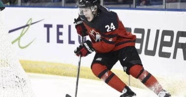 Defenseman Ty Smith will help lead Team Canada's blue line at the World Junior Championships.