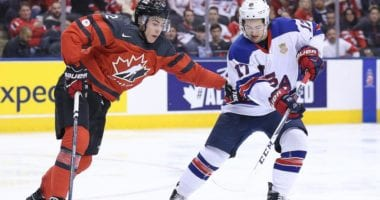 The World Junior Championship gets underway today, with Team Canada and Team USA renewing their rivalry.