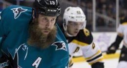 Joe Thornton and Patrick Marleau aren't thinking about the trade deadline.