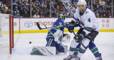 San Jose Sharks defenseman Brenden Dillon will get plenty of trade interest.