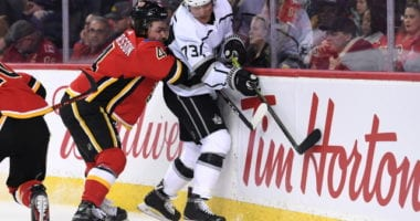 Tyler Toffoli is among the top-six forwards the Calgary Flames are looking at.