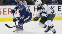 The Toronto Maple Leafs are on the hunt for defensemen that can play on the right side.