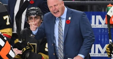 The Vegas Golden Knights have fired head coach Gerard Gallant and assistant coach Mike Kelly, and named Peter DeBoer as their new head coach.