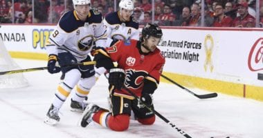 Trading Michael Frolik to the Buffalo Sabres clears cap space for the Calgary Flames. Sabres may not be done making moves.
