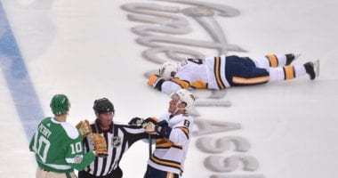 Dallas Stars Corey Perry will have a hearing for his elbow on Nashville Predators Ryan Ellis