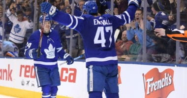 Do the Toronto Maple Leafs look to move a forward for blue line help?