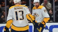 Nashville Predators Nick Bonino and Craig Smith