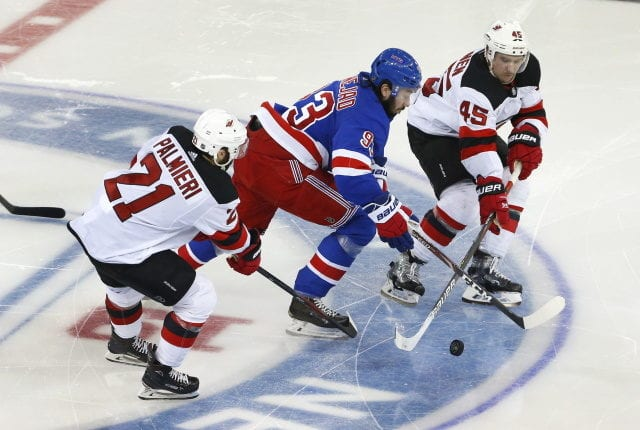 The Devils have received one legit offer for Sami Vatanen. Kyle Palmieri could net a nice return.