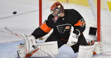 Flyers Carter Hart out two-three weeks