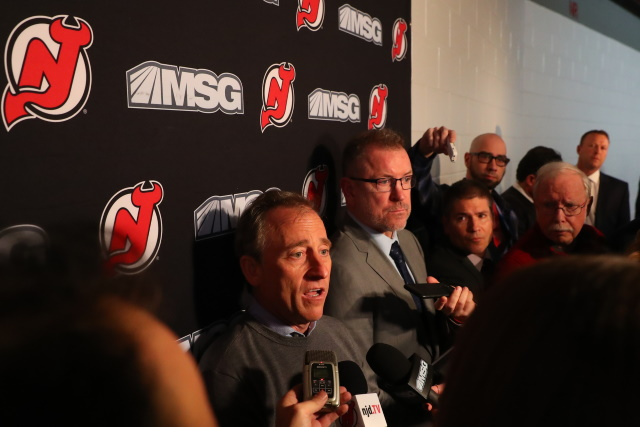 """There appears there were some """"philosophical differences"""" between ownership and former GM Ray Shero. Tom Fitzgerald is taking over in the interim, but where todo they sit long-term?"""