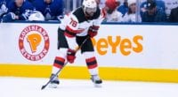 P.K. Subban hasn't asked the New Jersey Devils for a trade.