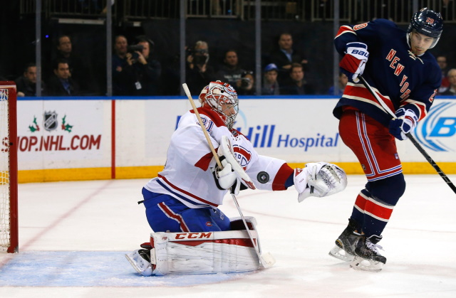 The Montreal Canadiens aren't trading Carey Price. Chris Kreider not distracted by the lack of contract talks and the trade rumors.