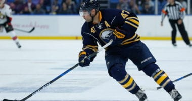 Zach Bogosian and Evan Rodrigues will have Sabres after asking for a trade.