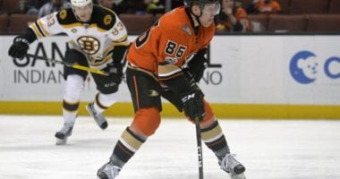 Could the Boston Bruins be eyeing Anaheim Ducks forward Ondrej Kase?
