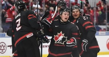 Team Canada will be looking for revenge against the Russia after 6-0 loss in the round robin. The Gold medal World Junior Championship gets underway at 1:00 PM EST.
