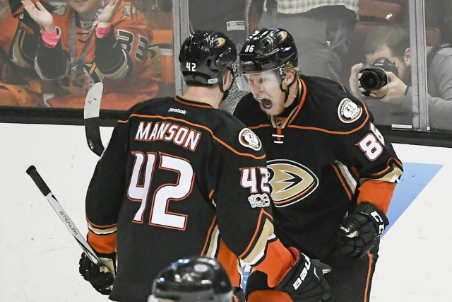 The Anaheim Ducks may not want to trade Josh Manson. Ondrej Kase getting interest.