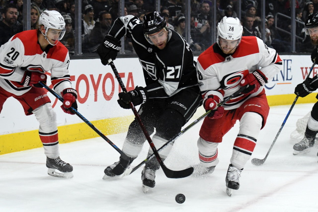 The asking price for Alec Martinez and some teams that are interested in him.