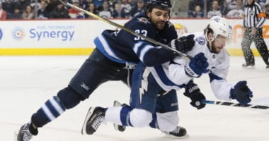 Dustin Byfuglien likely not going to get traded or be able to play this year