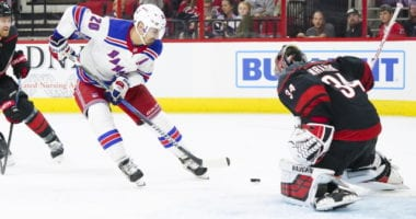 The Carolina Hurricanes kicked tires on Chris Kreider, who continue to talk extension with the NY Rangers.