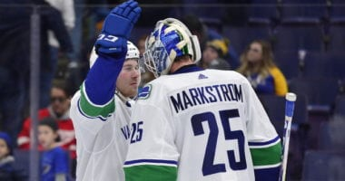 Jacob Markstrom could be out weeks with a knee injury