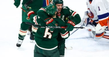 The Minnesota Wild and New York Islanders were working on a trade that involved Zach Parise and Andrew Ladd.