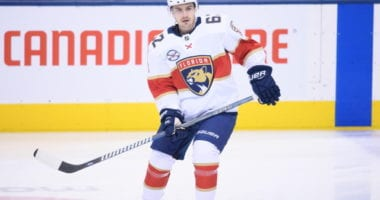 The Toronto Maple Leafs have traded forward Mason Marchment to the Florida Panthers for forward Denis Malgin.