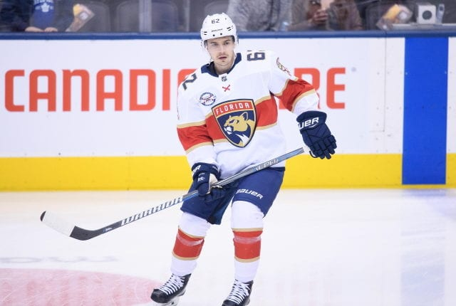 Nhl Trade Maple Leafs Acquire Denis Malgin From Panthers For Mason Marchment Nhl Rumors