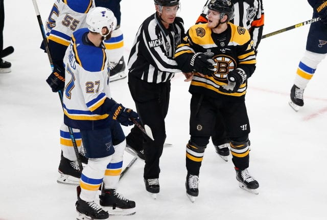 Pending unrestricted free agents in St. Louis Blues Alex Pietrangelo and Boston Bruins Torey Krug won't be signed by the end of the season.