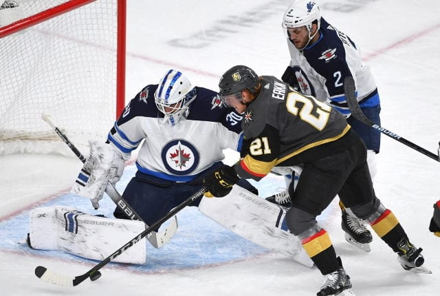 The Vegas Golden Knights have traded forward Cody Eakin to the Winnipeg Jets for a conditional 4th round pick.