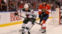 The Florida Panthers would listen on forward Vincent Trocheck. The Minnesota Wild would listen on Jonas Brodin.