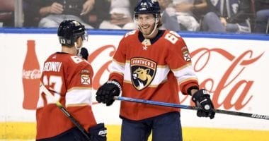The Florida Panthers shift began this past offseason and will likely continue into next offseason as well.