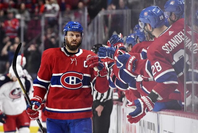 Shea Weber will be out for four to six weeks.