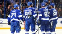 The Tampa Bay Lightning entered the season as one of the favorites to win the Stanley Cup. Their season started slowly but they've turned it up lately.